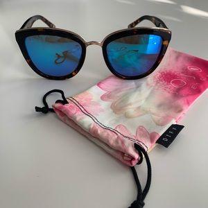 DIFF Eyewear tortoise shell sunglasses